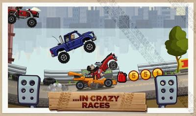 تحميل لعبة هيل كلايمب رايسينغ 2 الجزء الثاني Hill Climb Racing 2 للاندرويد مجانا