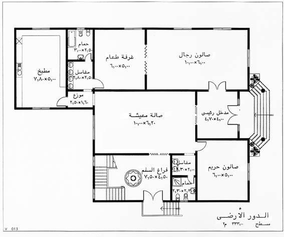 تصميم In DesignPX: مخططات منازل 5 الطابق الاول