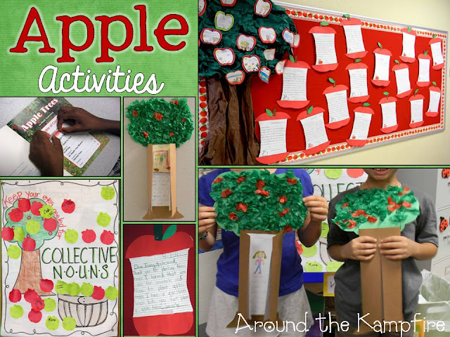 Blog post with loads of apple themed activities and ideas.