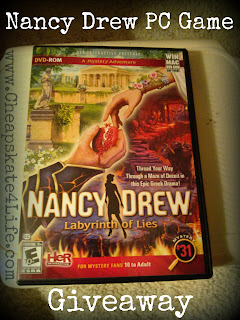 Nancy Drew: Labyrinth of Lies Review + Giveaway