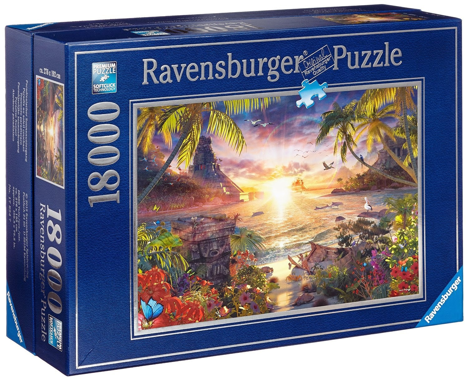 6000 pieces and more ravensburger paradise sunset. Black Bedroom Furniture Sets. Home Design Ideas