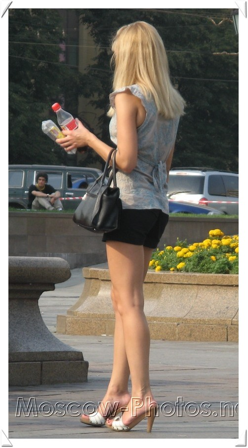 Beautiful Moscow Blonde and Hot Summer