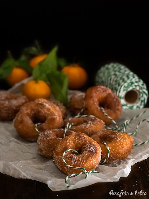 Rollos de naranja