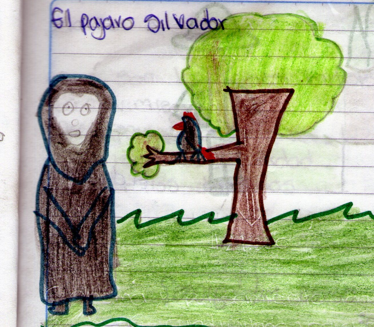 MITOS Y LEYENDAS: EL PÁJARO SILBADOR