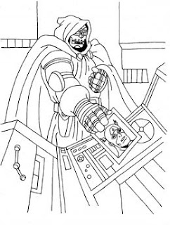 Fun Coloring Pages: Superhero Captain America Coloring Pages