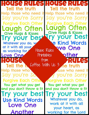 House Rules Printables