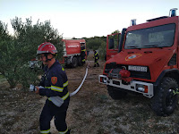požar Kali Selca slike otok Brač Online