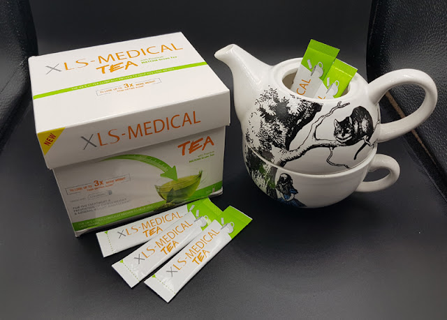 XLS Medical Tea is the UK's first clinically proven weight loss Tea