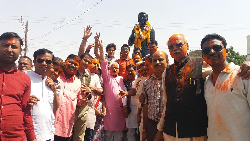 bjp-win-up-uttrakhand-भाजपा की विजय जनमानस की विजय है - जिलाध्यक्ष श्री भावसार