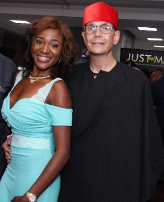 judith audu white husband