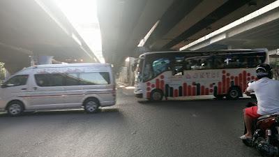 バンコク日本人学校大運動会保護者バス