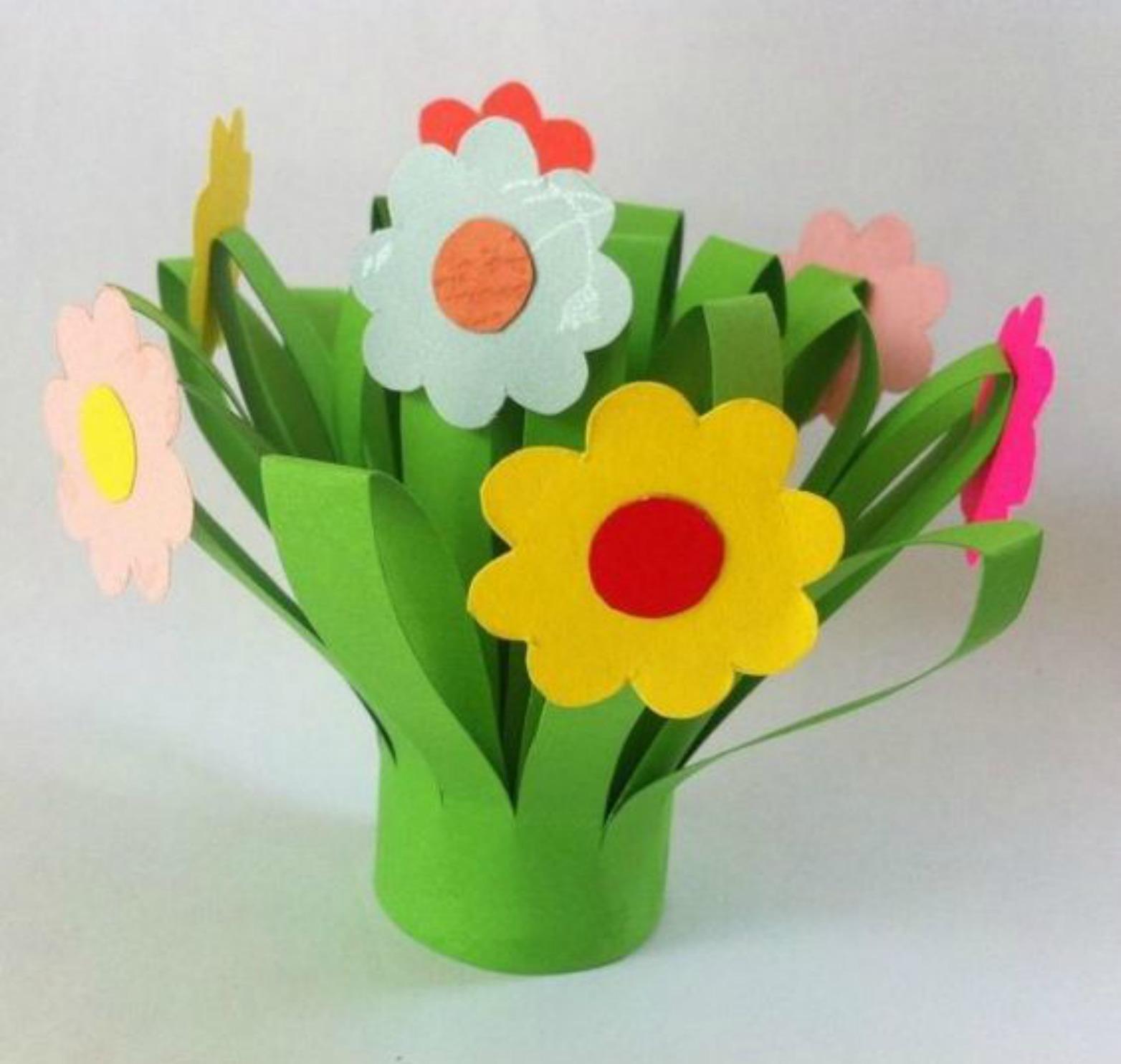 Estremamente Mamma Aiuta Mamma: Lavoretti: facciamo fiori di carta. IX17