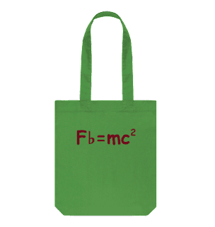 Designed to become one of your new favourites, the Musical Relativity Shopping Bag is a must-have and a great conversation starter. Using organic natural fibers in our products. Printed in the UK in a renewable energy powered factory.