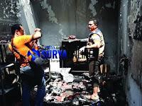 Tabung Elpiji Ngowos, Rumah Produksi Roti di Gresik Terbakar