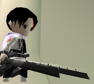 AOTTG Dark Sword Skin