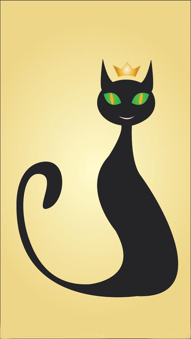 Free Download iPhone 5 Cat Wallpapers 640x1136 1136x640 - PPT Garden