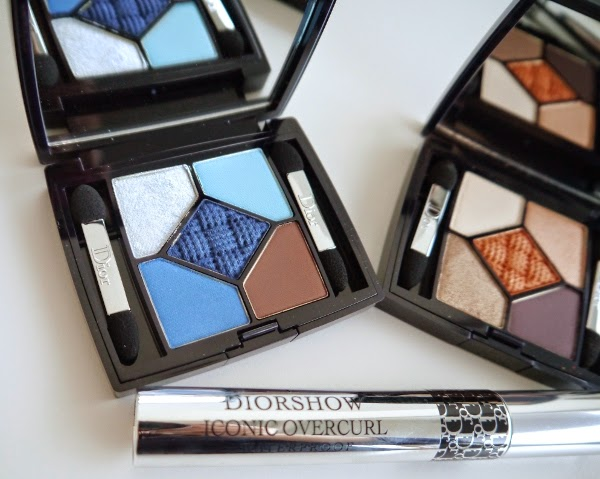 Dior Transat Collection 5 Couleurs Transat Edition eyeshadow palette in Atlantique
