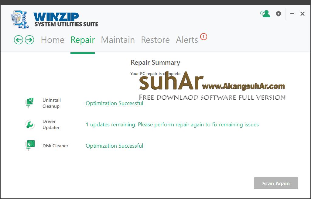 Download WinZip System Utilities Suite full crack