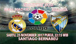 Prediksi Real Madrid vs Malaga 25 November 2017