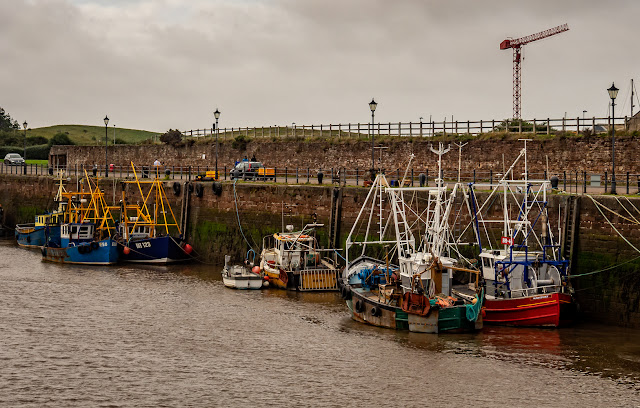 Photo of a different view of Maryport Harbour