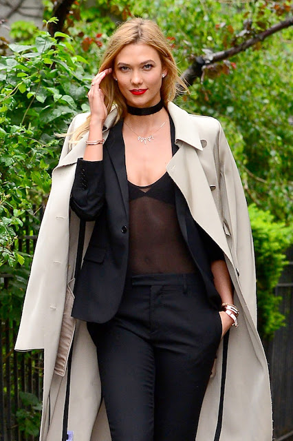 Fashion Model, @ Karlie Kloss out in NYC