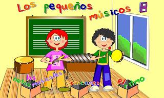 Resultado de imagen de juegos de música para niños on line
