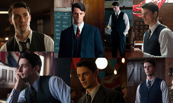 The Butterfly Balcony: Costumes from The Imitation Game Hugh Alexander