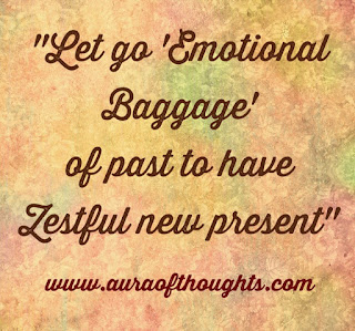 Emotional Baggage Quote - Aura Of Thoughts