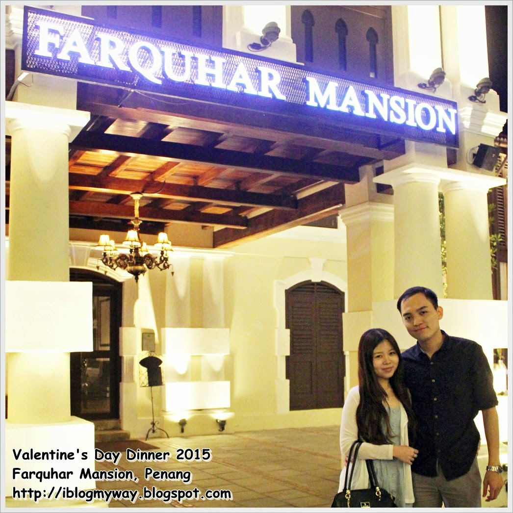 Best Fine Dining, Farquhar Mansion, Penang, Valentines Day Dinner