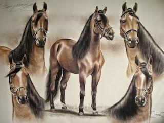 pinturas-de-caballos-de-trote-y-galope