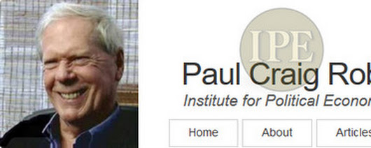 "Paul Craig Roberts and I have parallel back grounds, beginning with having both spent 9 years of our lives as students at quality universities. He is only one year younger than me, and our four-year universities were both technical. Then we split, with PCR taking up economy while I took physics. Some people who spend 8 or 9 years in universities promptly take up cushy positions rather than continuing advancing their respective studies. Conversely, PCR and I both used our 9-year university ""stepping stones"" to advance our respective fields: PCR (among other things) become one of Ronald Reagan's top economists and an editor of the Wall Street Journal, while and I (among other things) advanced the field of glassy materials …and after 50 years in the lab (including finishing some of my work without pay post 2001) I won last year's the top prize of the Glass and Optical Materials Division of the American Ceramic Society. Among about 270 attendees listening to my prize lecture on May 23, 2017, there were surely some of whom provided his/her justifications for that prize. So, winning this was truly a big deal. Now returning to the turn of the century, PCR gave up all the jobs that were providing him a good cash flows in order to spend full time to inform the American people of the evil is being done to them by their President, Representatives, and particularly the CIA. About the same time, I exited the Naval Research Laboratory in Washington, DC, after 33 years working there …partially because my management began requiring me (against my position description) to work on projects of military/industrial complex (commonly needed because of their stupid mistakes) instead of allowing me to continue advancing science. (N.B. I actually raised $666,000 from external entities in that decade …more than enough for my salary but not quite enough to cover my overhead). Long story short, besides continuing to publish scientific publications at my own expense, I have been following PCR ever since the turning of the century. Thus, I have routinely learned many, many things that the lying ""mainstream media"" never admits to …particularly when the subject is Russia, which the ""powers that be"" falsely vilify. (N.B., some of my best friends are Russian scientists.) Finally, back to PCR. In my estimation, the short essay below is totally correct, and perhaps PCR's best ever. Please read it and send it to your friends."