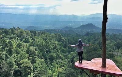 Lokasi Ranggon Hills Halimun Salak