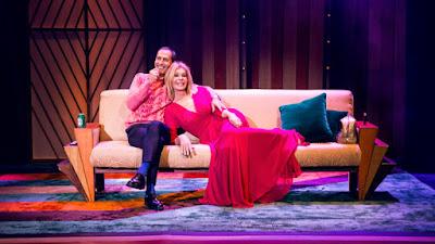 Bibiana Fernández y Manuel Bandera en El amor está en el aire