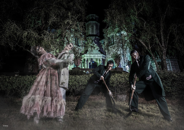 Fantasmas da Haunted Mansion