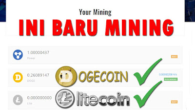 Situs Mining Dogecoin dan Litecoin Terbaru