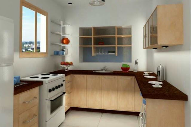 Model Desain Dapur Minimalis 3x3