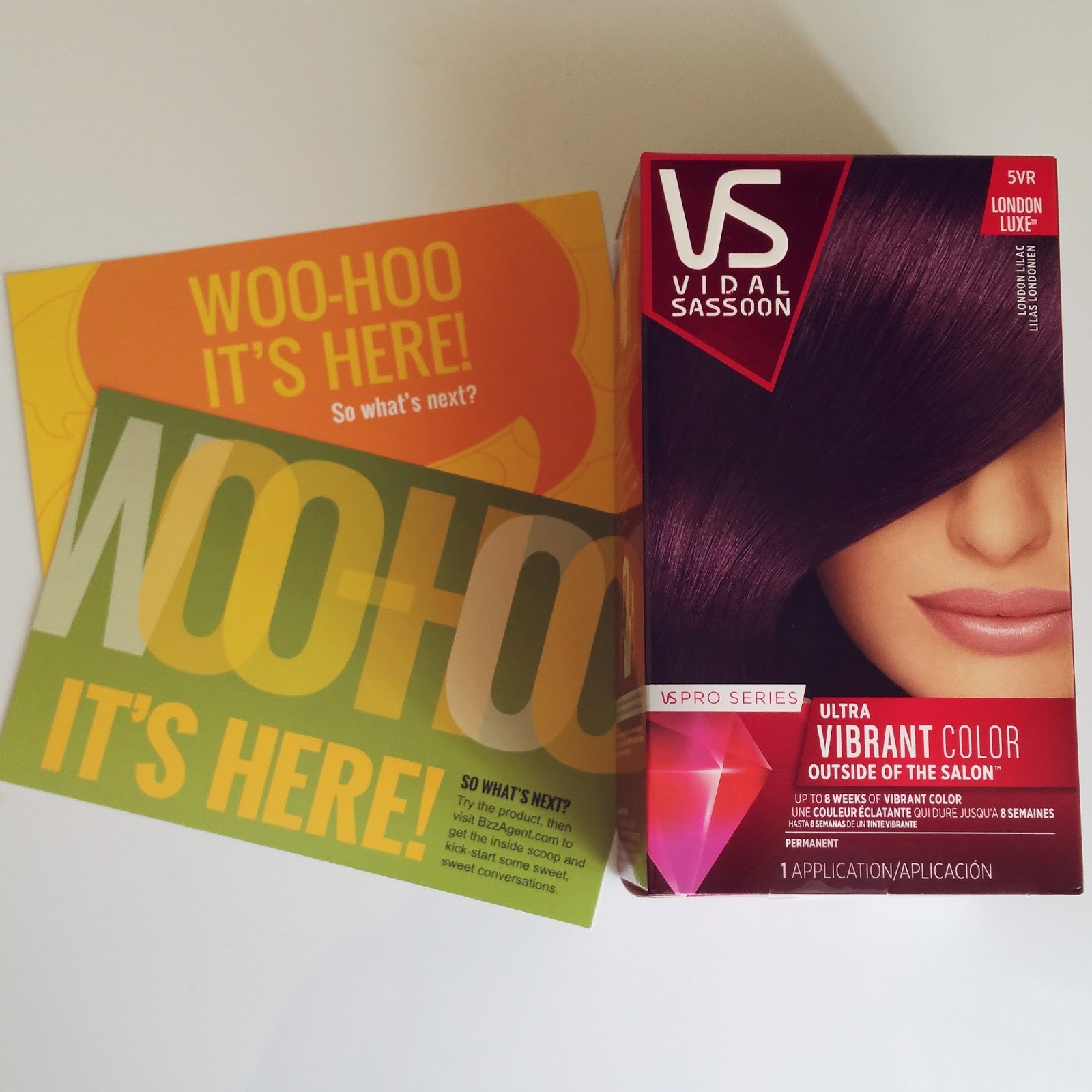 Hair Vidal Sassoons London Lilac Pink Petals