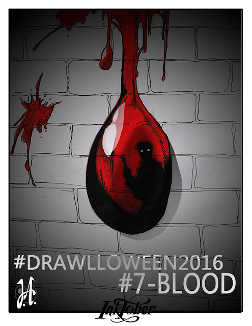 blood-drawlloween-inktober-lucyowlart