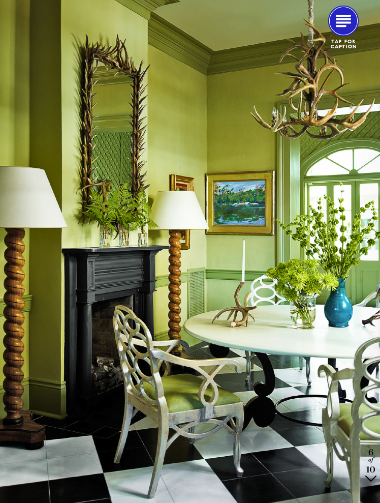 Splendid Sass: DINING ROOMS OF LATE