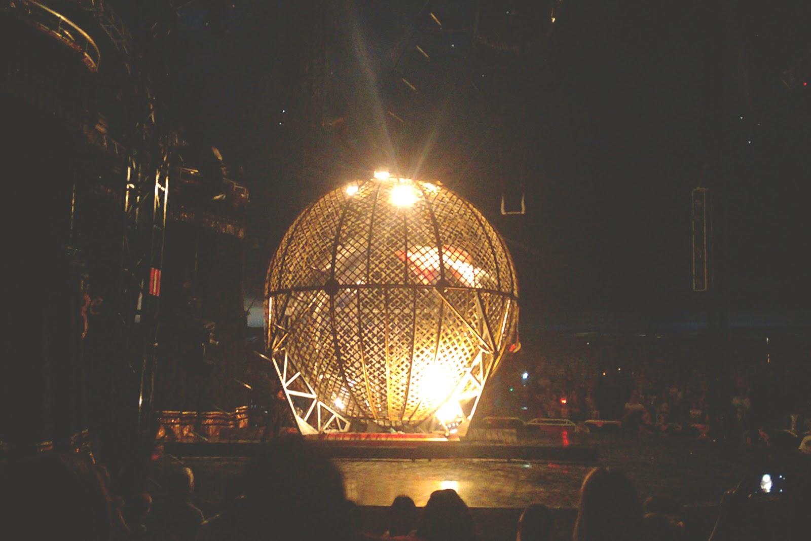 gaiola da morte mirage circus