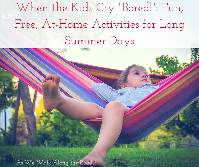 Free Summer fun ideas for kids