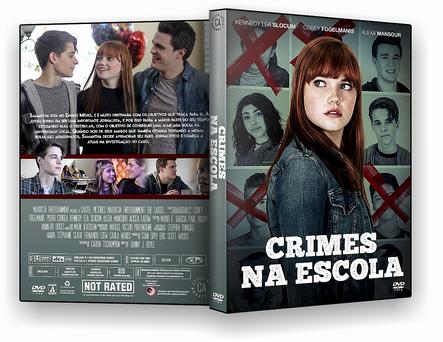 CAPA DVD – Crimes Na Escola – AUTORADO