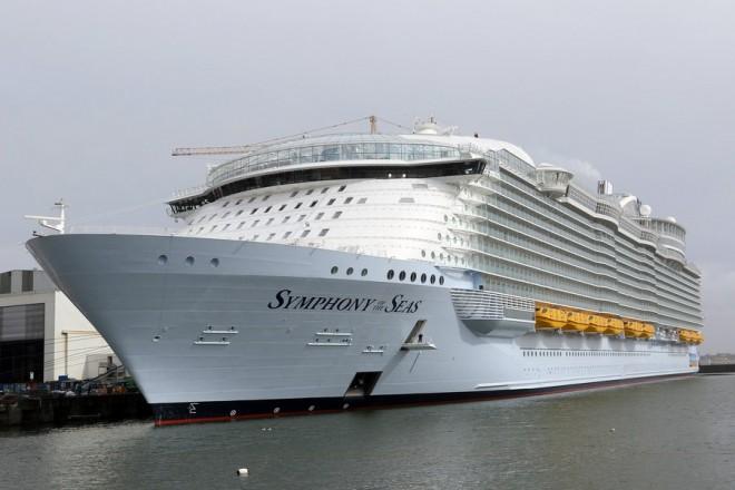 «Symphony of the seas»: Το μεγαλύτερο κρουαζιερόπλοιο στον κόσμο!