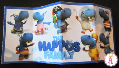 Киндеры The Happos Family 2017 - 2018 toys