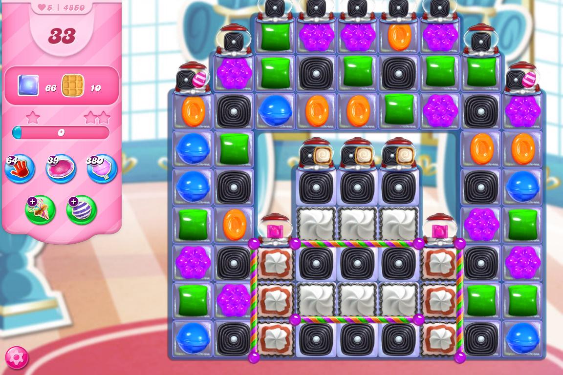Candy Crush Saga level 4850