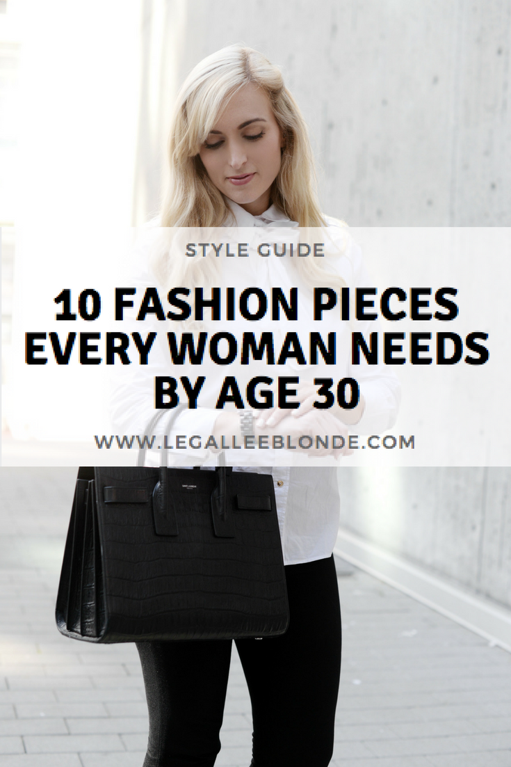 Every Woman 30 Should Have These 10 Items