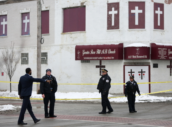 chicago funeral home shootings