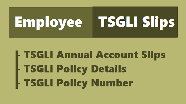 download tsgli annual account slips,know your tsgli policy details,policy bond,annual account slip,tsgli policy no,tsgli application forms,telangana tsgli slips download
