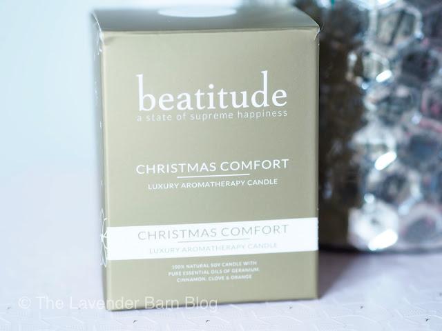 Beatitude Christmas Comfort Luxury Aromatherapy Candle