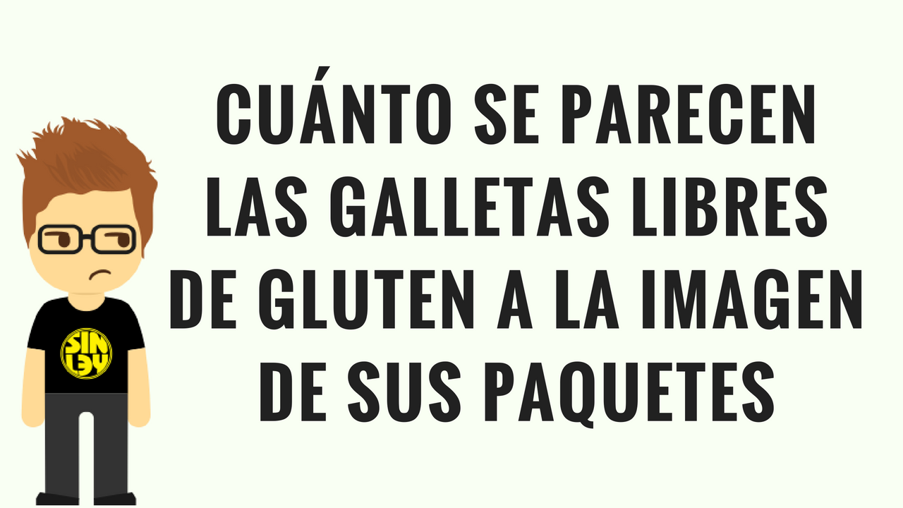 Galletas libres de gluten